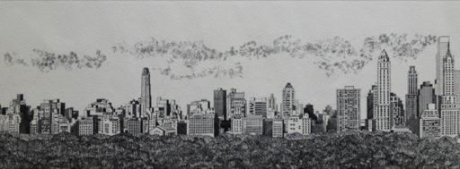 Skyline #1 Spring Parade (Cityscape)-1