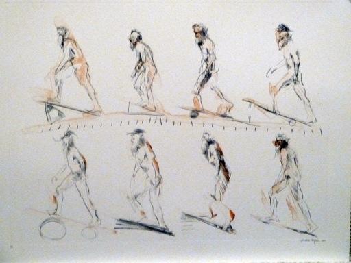 Muybridge Walks Up Incline-1