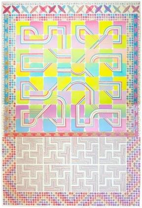 Don & Llyr #2: Rainbow Labyrinth Tesserae (2 Parts)-1