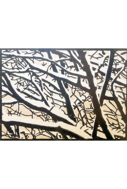 Snow On Elms