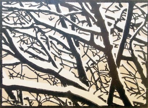 Snow On Elms-1