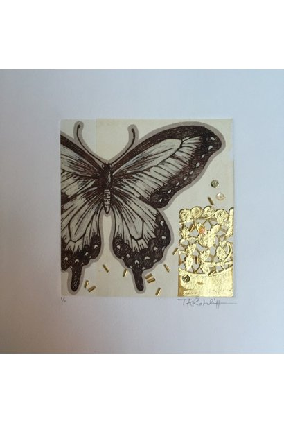 Butterfly and Gold