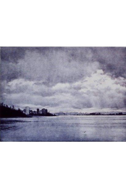Daybreak over Vancouver