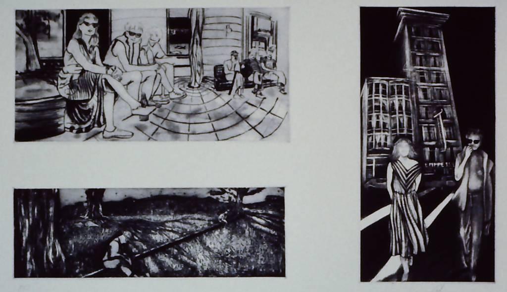 Jan & George Visit Skid Row-1