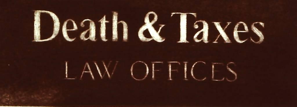 Death and Taxes-1