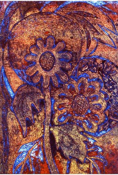 Blumen Flowers (blue)