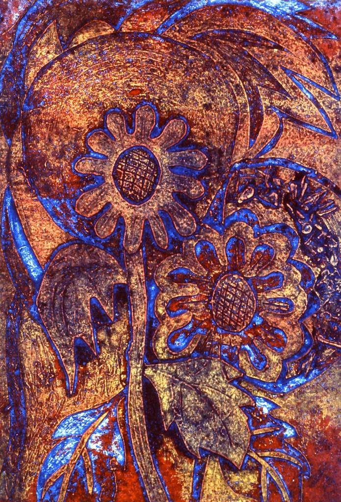 Blumen Flowers (blue)-1
