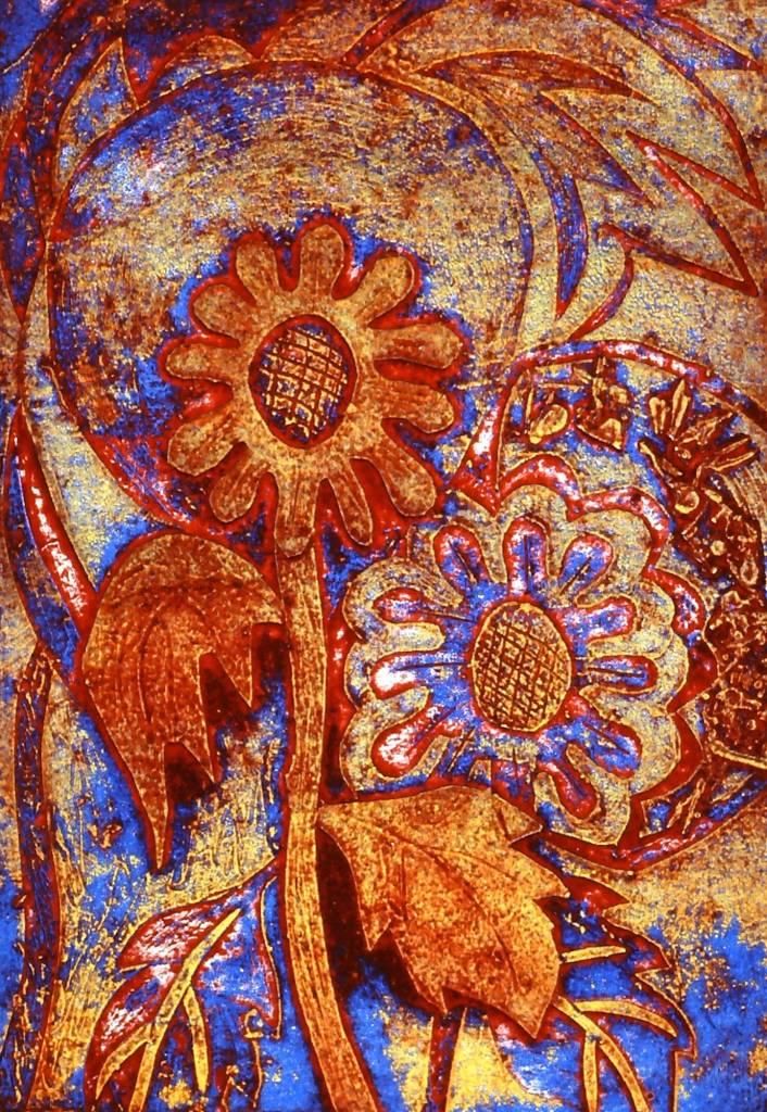Blumen Flowers (red)-1