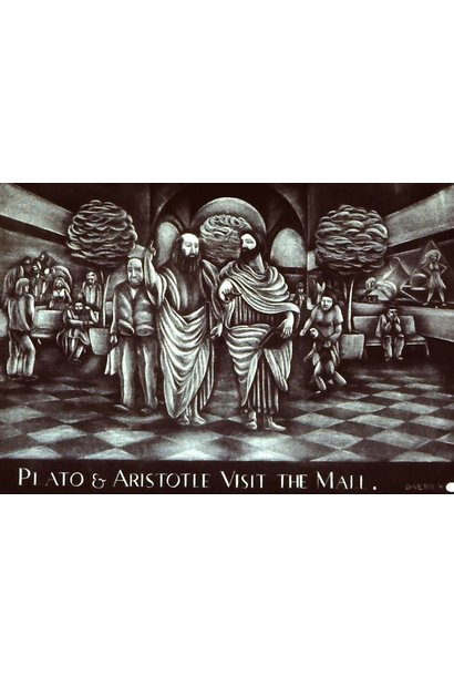 Plato and Aristotle Visit the Mall