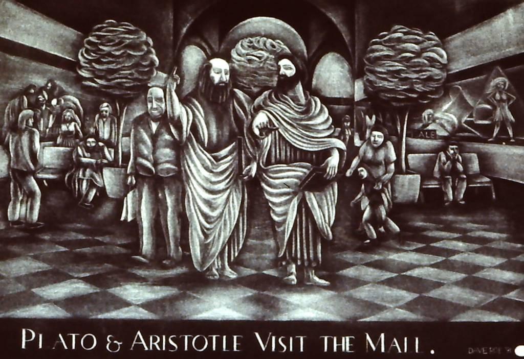 Plato and Aristotle Visit the Mall-1