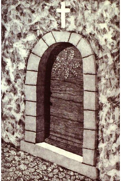 Villeneuvette Door