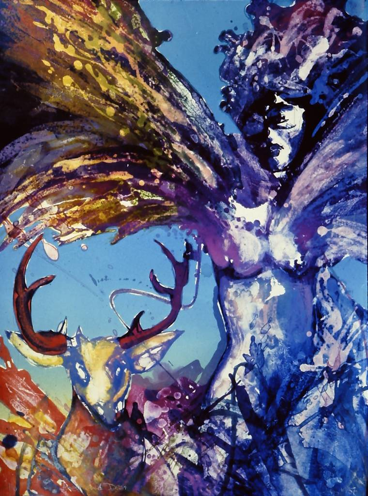 Angel and Deer-1