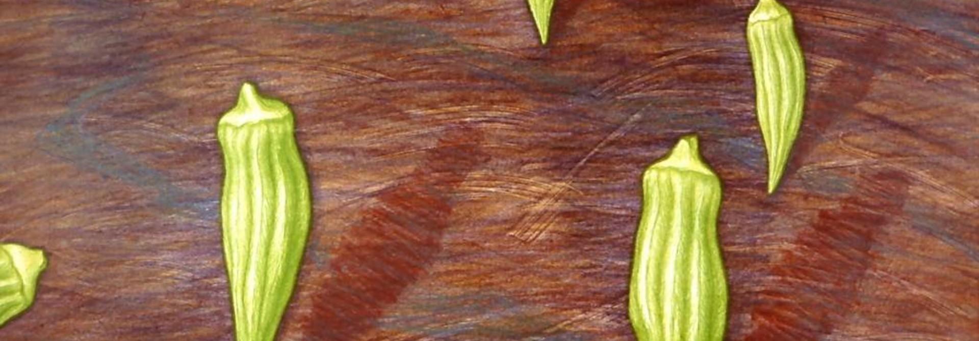 A Field of Okra