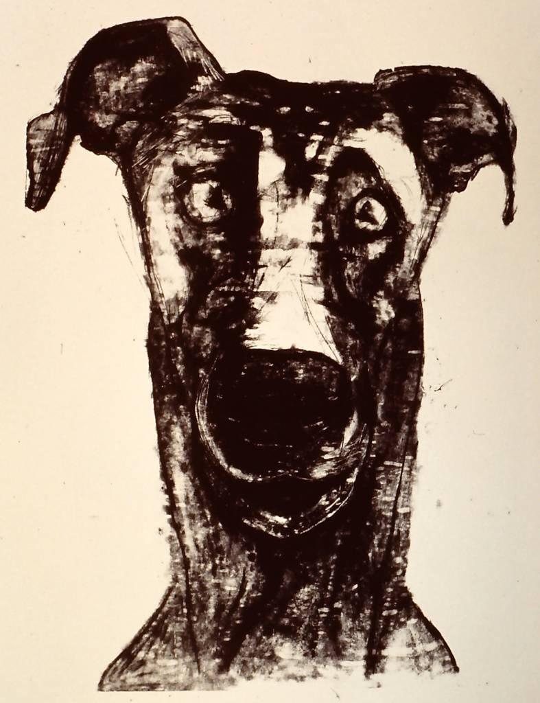 Dog (#3 of Smiling Animal series)-1
