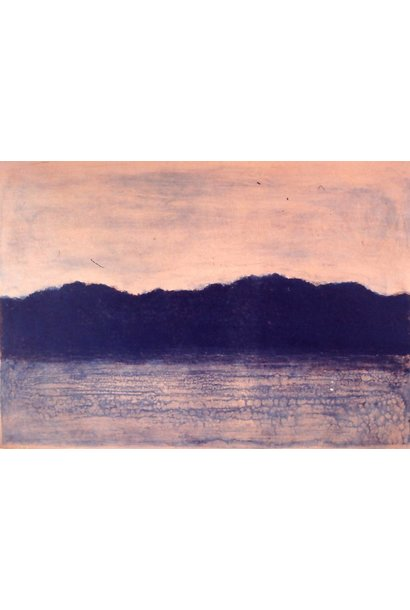 Untitled (Sunset Landscape