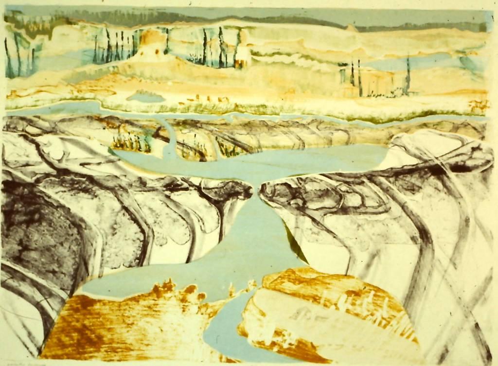 Abstracted Landscape of Bella Medici-1