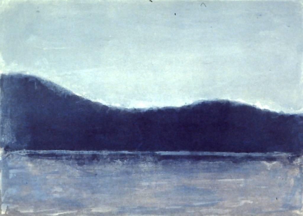 Blue Shan-shui-1