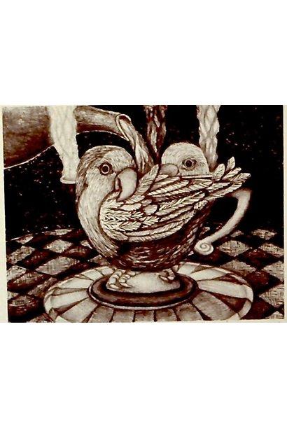 untitled (identification: Lovebird Teacup)