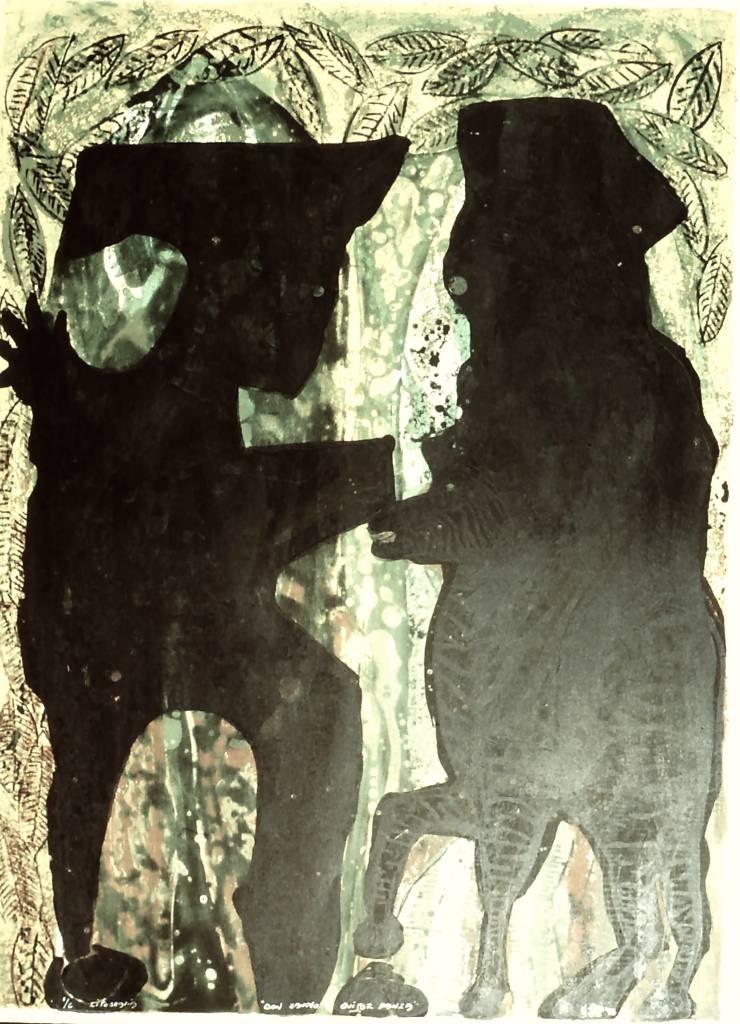 Don Sancho Y Quijote Panza-1