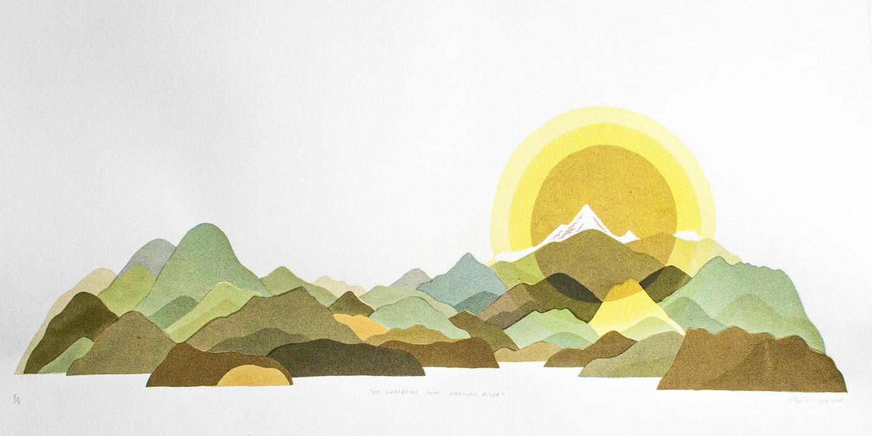 Mt. Garibaldi from Mamquam River-1