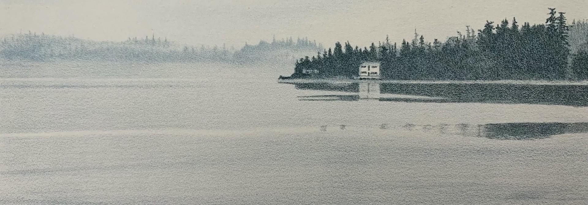 Ships Point (framed)