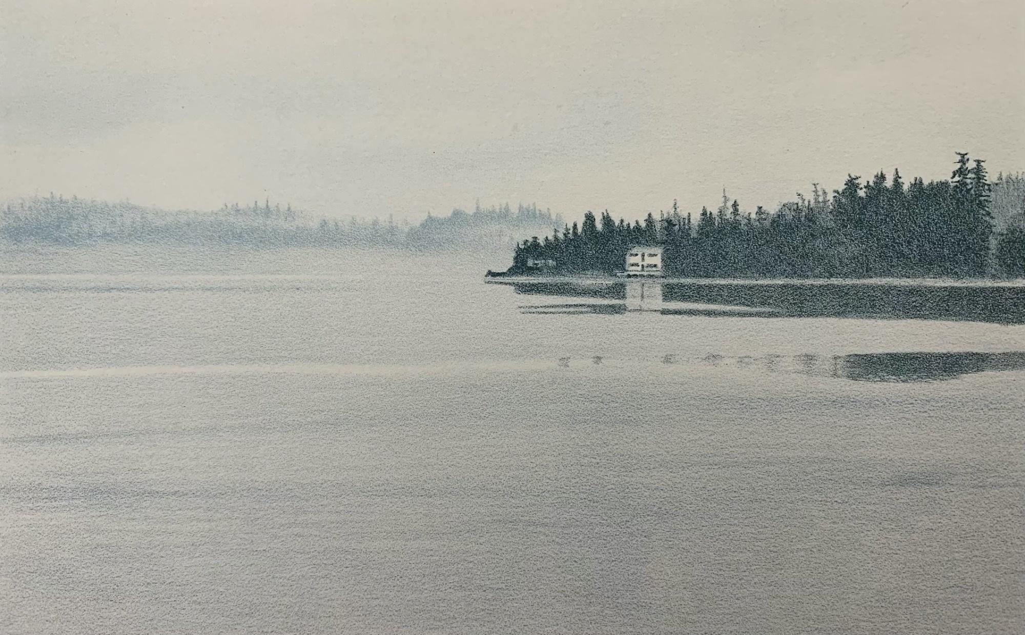Ships Point (framed)-1
