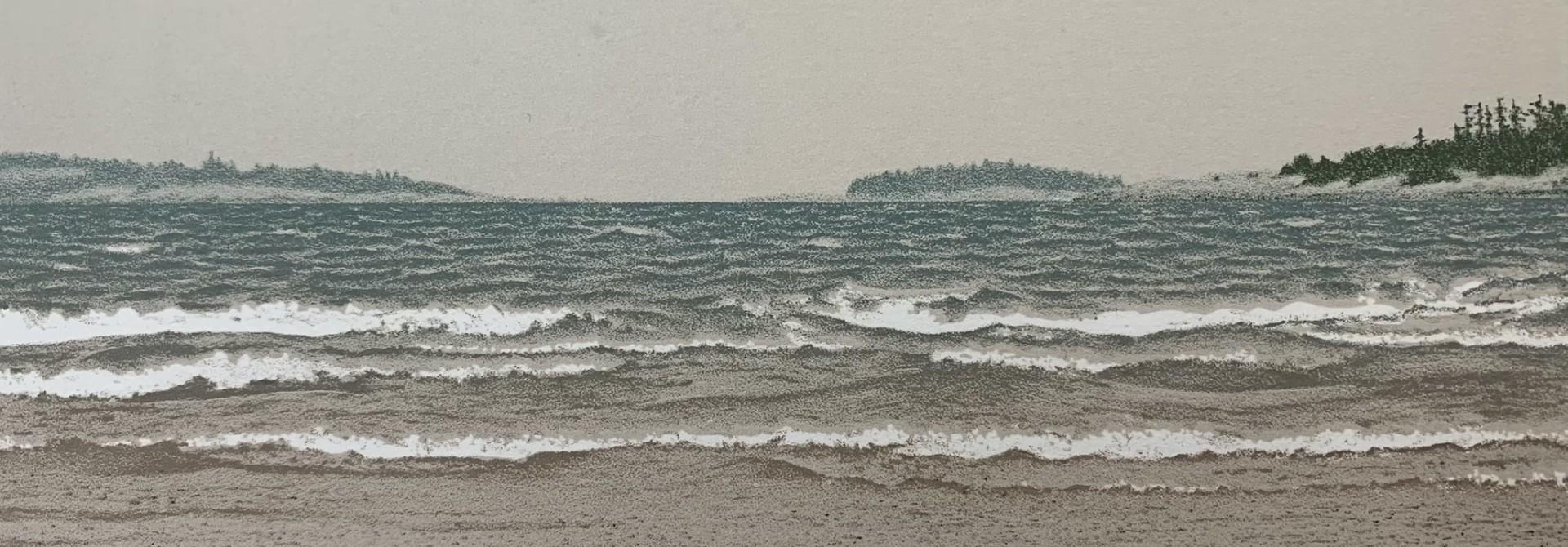 Ballenas Channel (framed)