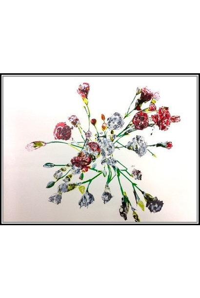 Untitled (Carnations)- (framed)