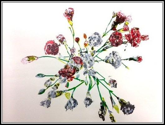 Untitled (Carnations)- (framed)-1