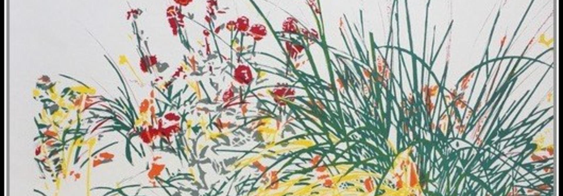 Wild Flower (Courcelles sur mer) - (framed)