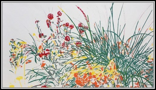 Wild Flower (Courcelles sur mer) - (framed)-1