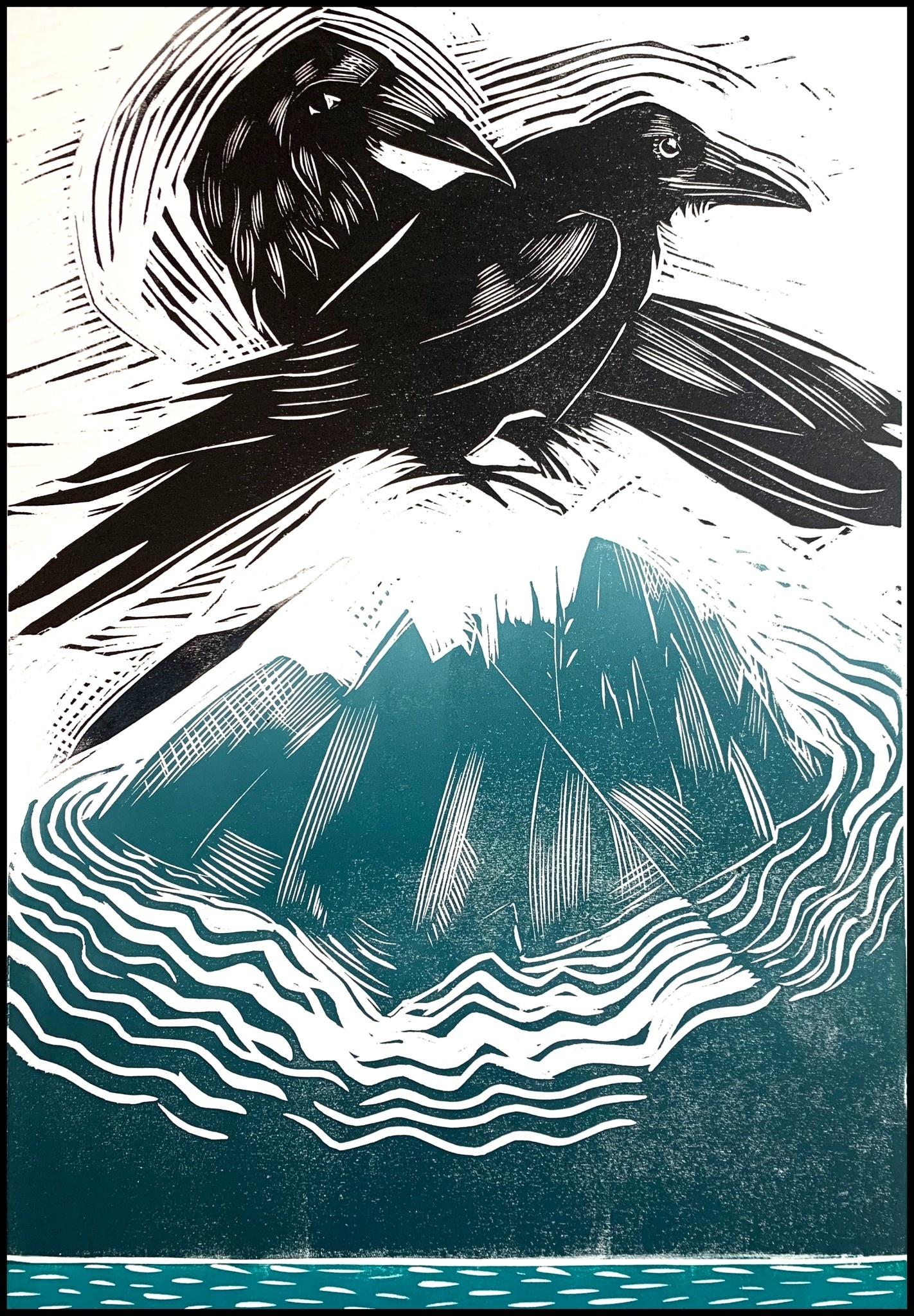 Haida Gwaii # 2 (framed)-1