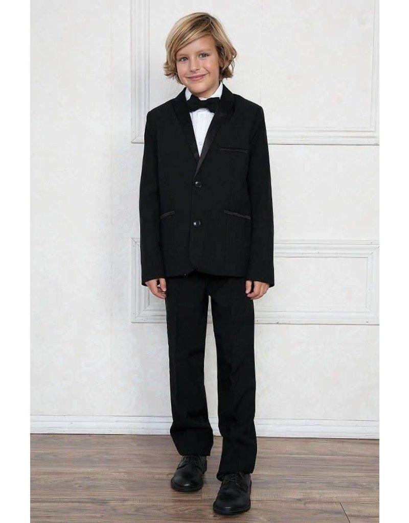 Calla Collection USA INC. Calla Collection 4Pcs Slim Tuxedo T4006-3, Color: Black, Size: ?