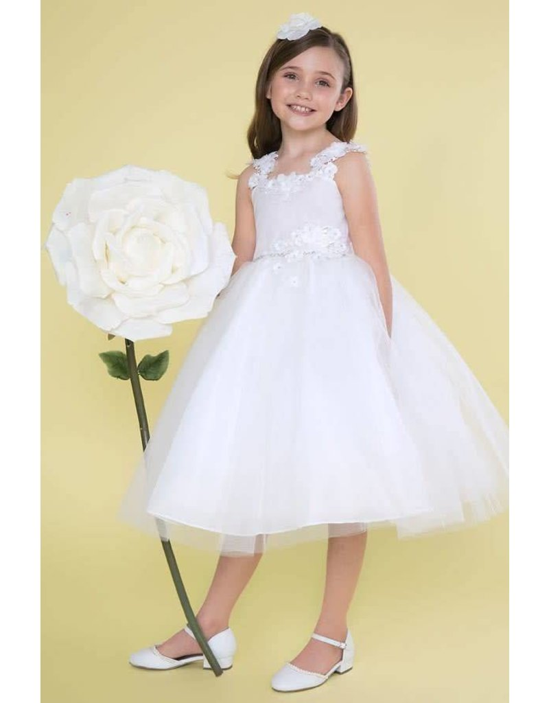 Calla Collection USA INC. Calla Collection Lace Waist and Strap like a Wing Tulle Dress D-784, Color: ?, Size: ?