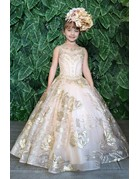 Calla Collection USA INC. Calla Collection Pageant Sequins Ball Gown KY215, Color: ?, Size: ?