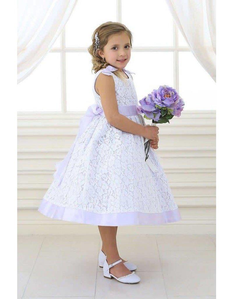Calla Collection USA INC. Calla Collection Poly Silk w Cotton Lace Dress M-905, Color: ?, Size: ?