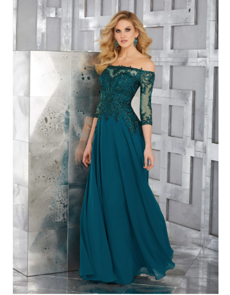 Mother of the Bride Mori Lee Mother of the Bride 71621, Color: Pewter, Size: 16
