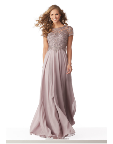 Mother of the Bride Mori Lee Mother of the Bride 71824, Color: Lilac, Size: 14