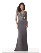 Mother of the Bride Mori Lee Mother of the Bride 71819, Color: Charcoal, Size: 12
