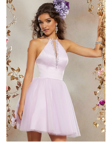 Mori Lee Mori Lee Damas 9503, Color: Blush, Size: 6