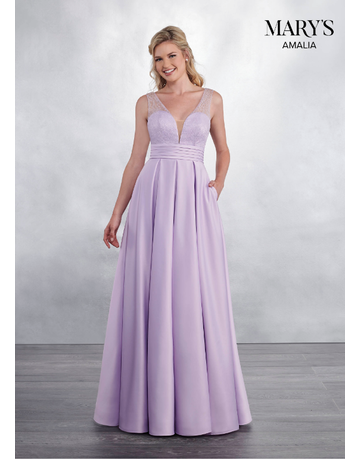 Amalia Mary's Bridal Amalia MB7037, Color: Orchid, Sise: 20W