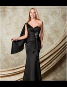Amalia Mary's Bridal Amalia M1506, Color: Black, Size: 4