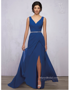 Amalia Mary's Bridal Amalia MB1851, Color: Teal, Size: 14