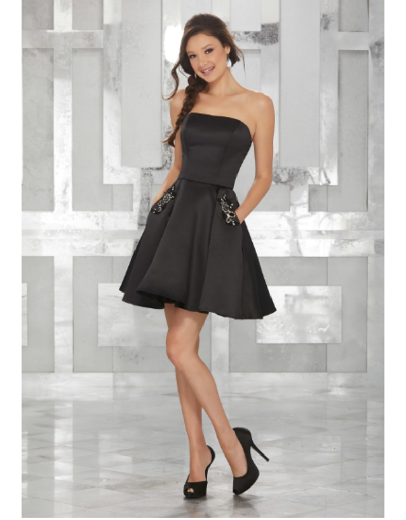 Damas Mori Lee Damas 9451, Color: Black, Size: 6