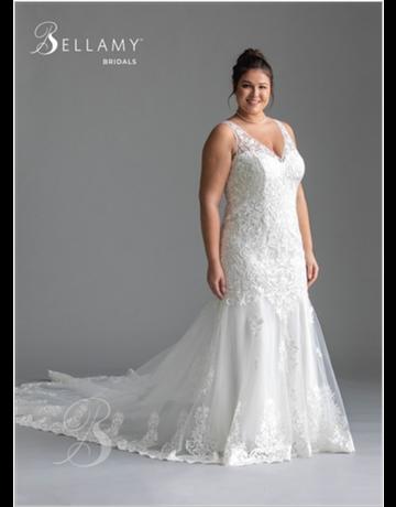 Bellamy Bridal Bellamy Bridal Bridal Gown 1959, Color: Ivory, Size: 16W