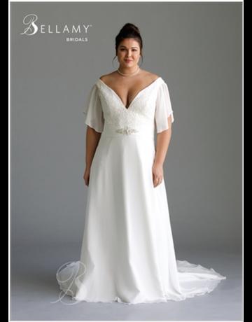 Bellamy Bridal Bellamy Bridal Bridal Gown 1803, Color: Ivory, Size: 18W