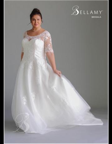 Bellamy Bridal Bellamy Bridal Bridal Gown 1804, Color: Ivory, Size: 20W