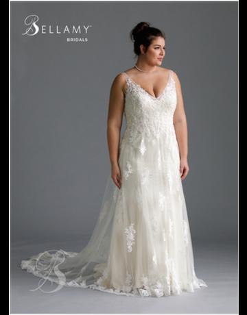 Bellamy Bridal Bellamy Bridal Bridal Gown 1918, Color: Ivory, Size: 24W
