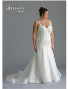 Bellamy Bridal Bellamy Bridal Bridal Gown 1902, Color: Ivory/Oyster, Size: 24W