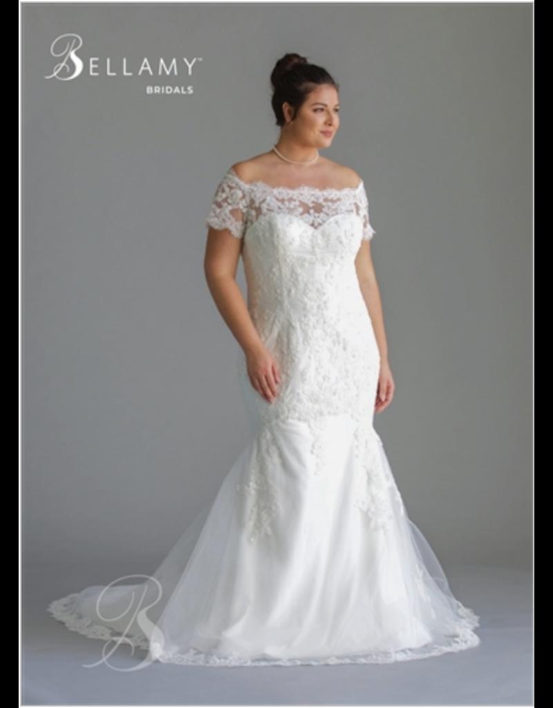 Bellamy Bridal Bellamy Bridal Bridal Gown 1800, Color: Ivory, Size: 22W
